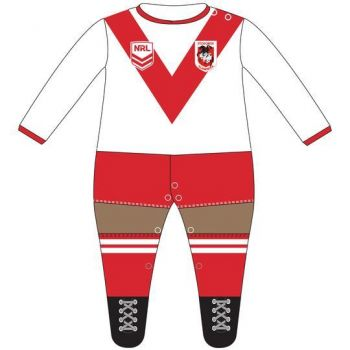 St George Dragons Infant Footysuit