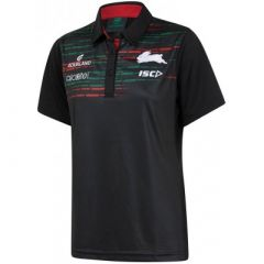 2019 South Sydney Rabbitohs ADULTS Black Sub Polo