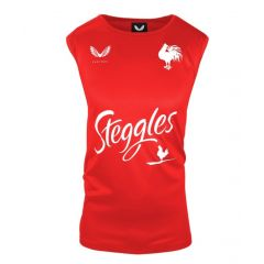 2021 Sydney Roosters ADULTS Red Training Singlet
