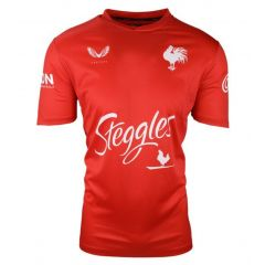 2021 Sydney Roosters ADULTS Red Training Tee