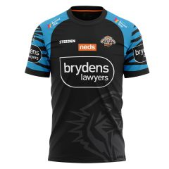 2021 Wests Tigers ADULTS Run Out Tee