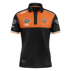 2021 Wests Tigers ADULTS Media Polo