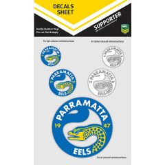 Parramatta Eels Decal Sticker Sheet