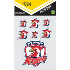 Sydney Roosters Decal Sticker Sheet