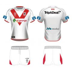 2021 St George Dragons TODDLER Home Jersey Set