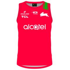 2021 South Sydney Rabbitohs ADULTS Training Singlet Red