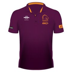 2019 Brisbane Broncos ADULTS Mulberry Sub Polo