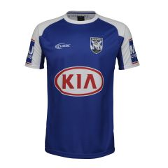 2019 Canterbury Bulldogs blue training tee