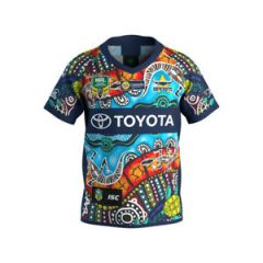2018 North QLD Cowboys KIDS Indigenous Jersey