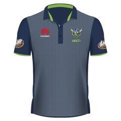 2019 Canberra Raiders ADULTS Navy Sublimated Polo