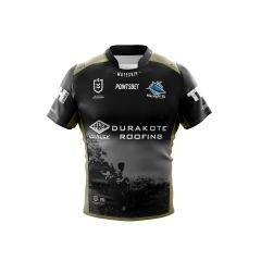 2019 Cronulla Sharks Kokoda ADULTS Jersey