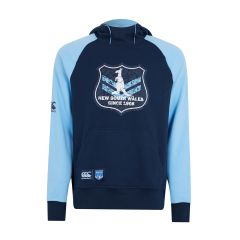 2019 NSW Blues ADULTS Vintage Shield Hoody