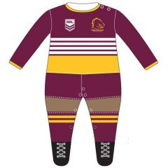 Brisbane Broncos Infant Footysuit
