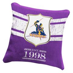 Melbourne Storm heritage cushion