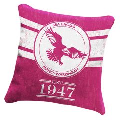 Manly-Warringah Sea Eagles heritage cushion