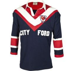Sydney Roosters 1976 City Ford Retro Jersey