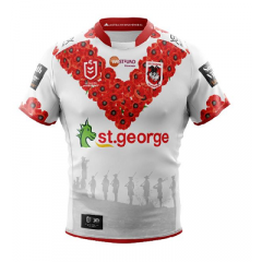 2019 St George Dragons ADULTS Anzac Day Jersey