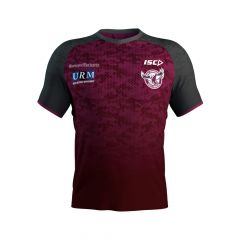 2019 Manly Sea Eagles ADULTS Scarlet Training Tee