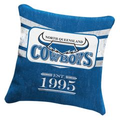North QLD Cowboys Heritage Cushion