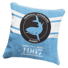 Cronulla Sharks Heritage Cushion