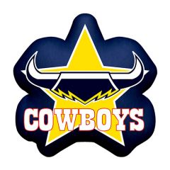 North QLD Cowboys Logo Cushion