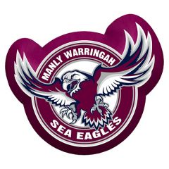 Manly Sea Eagles Logo Cushion