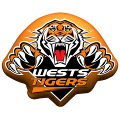 Wests Tigers Logo Cushion