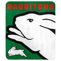 South Sydney Rabbitohs Polar Fleece Blanket