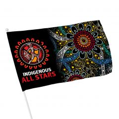 Indigenous All Stars Small Supporter Flag