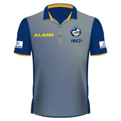 2019 Parramatta Eels ADULTS Grey Sub Polo