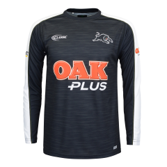 2019 Penrith Panthers Adults Long Sleeve Warm Up Tee