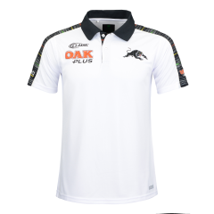 2019 Penrith Panthers White Adults Coaches Media Polo