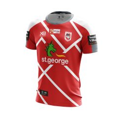 2019 St George Dragons ADULTS Red Training Tee
