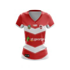 2018 St George Dragons LADIES Away Jersey