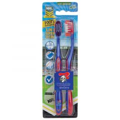 Newcastle Knights toothbrush (2 Pack)