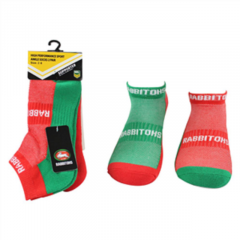 South Sydney Rabbitohs Ankle Socks (2 PACK)