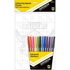 Canberra Raiders Puzzle & Marker Set