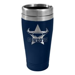 North QLD Cowboys Stainless Steel Travel Mug