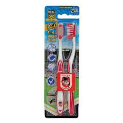 St George dragons toothbrush (pack of two)