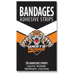 Wests Tigers Pack of 20 Bandaids