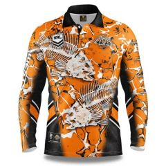 Wests Tigers ADULTS Fishing Shirt