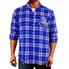 Canterbury Bulldogs ADULTS Flannel Shirt