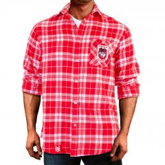 St George Dragons ADULTS Flannel Shirt