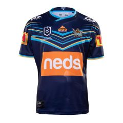 2020 Gold Coast Titans ADULTS Home Jersey