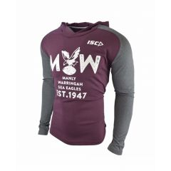 2018 Manly Sea-Eagles Warm up Hoody