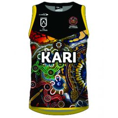 2021 Indigenous All Stars ADULTS Training Singlet