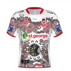 *PRE ORDER* 2021 St George Dragons ADULTS Indigenous Jersey