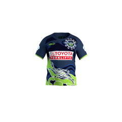 2021 Canberra Raiders KIDS Indigenous Run Out Tee
