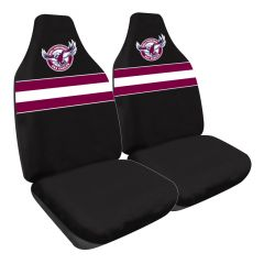 Manly Sea Eagles Car Seat Covers
