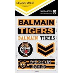 Balmain Tigers WM Decal Stickers